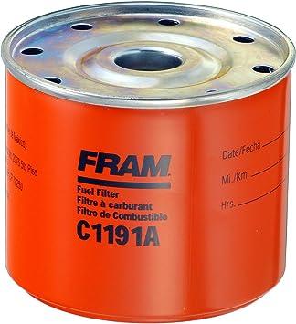 [SCHEMATICS_4FR]  Amazon.com: FRAM C1191A Spin-On Fuel Filter: Automotive | Fram Fuel Filter Housing |  | Amazon.com