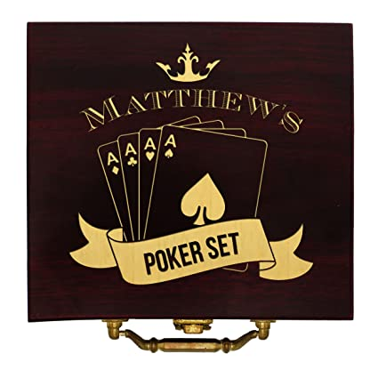 Amazon personalized poker chip set case texas holdem player personalized poker chip set case texas holdem player gifts custom engraved for free colourmoves