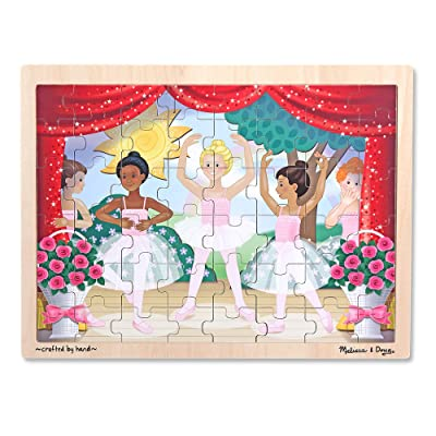 Melissa & Doug Ballet Performance Wooden Jigsaw Puzzle (48pc): Melissa & Doug: Toys & Games