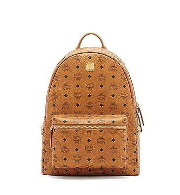 b3b8c0071516 MCM women s rucksack backpack travel stark brown  Amazon.co.uk ...