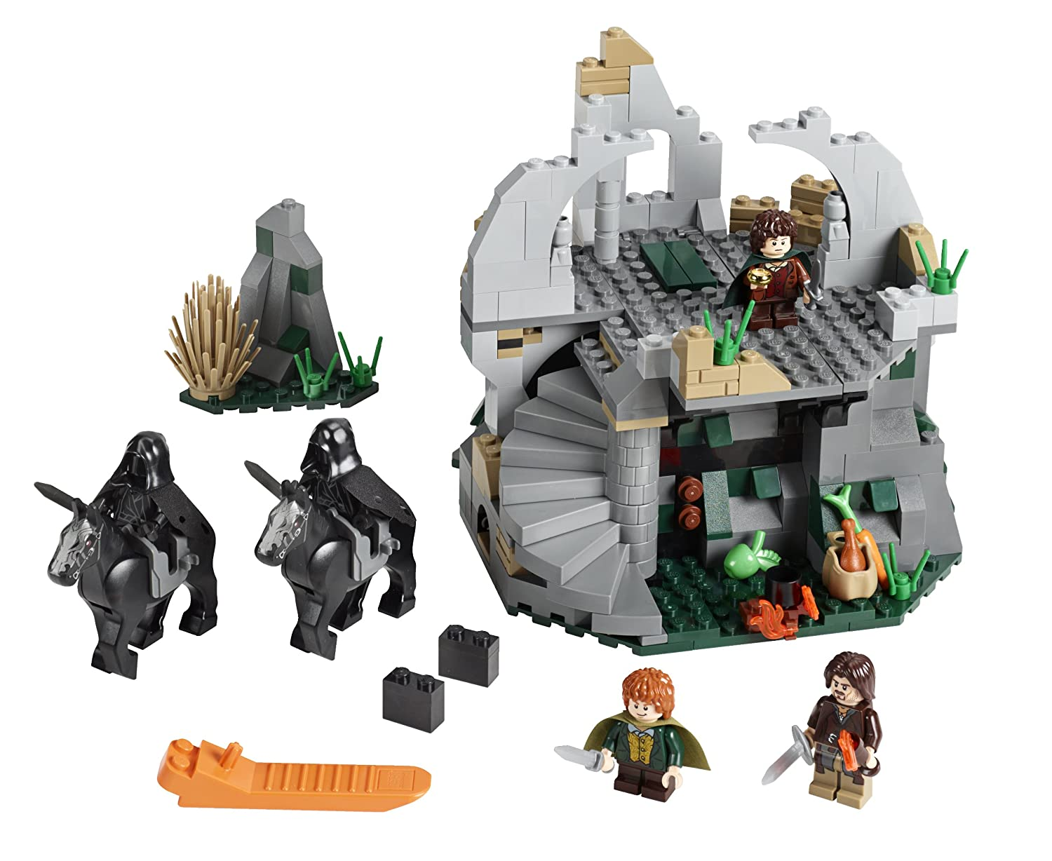 Lego Lotr 9472 Attack On Weathertop Toys Games The Lord Of Rings Battle At Black Gate 79007