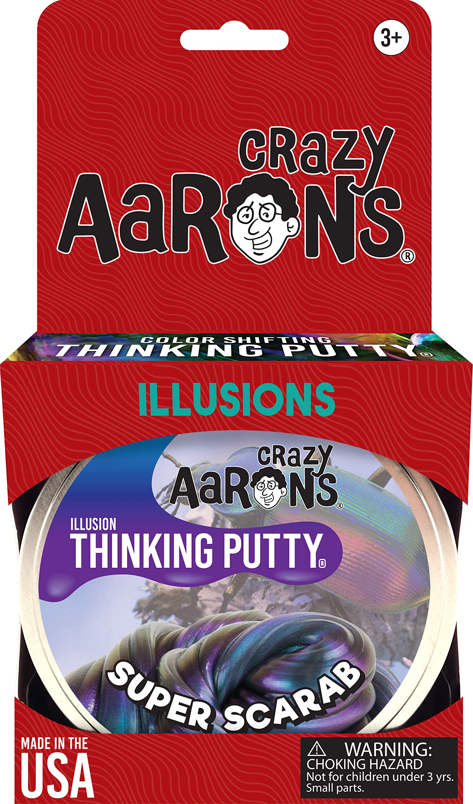 Crazy Aaron's Thinking Putty - Super Illusions - Super Scarab by Crazy Aaron's (Image #5)