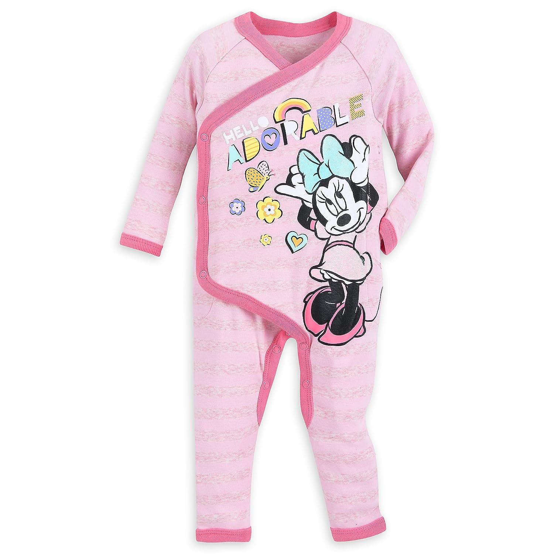 Disney Santa Minnie Mouse PJ PALS for Baby Size 6-9 MO Multi
