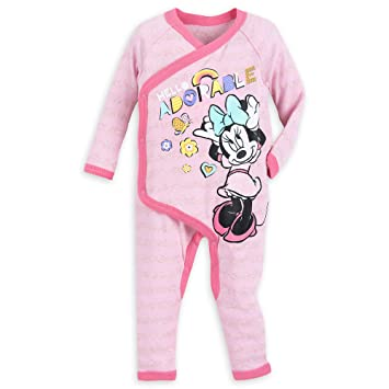 2716f1aa87 Image Unavailable. Image not available for. Color  Disney Minnie Mouse  Stretchie Sleeper ...