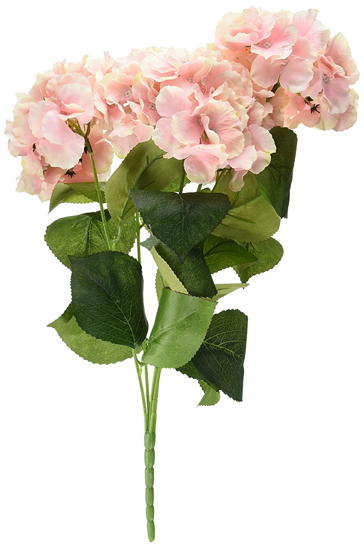Amazon.com: Leegoal Artificial Hydrangea Flower Bouquets Home Party ...