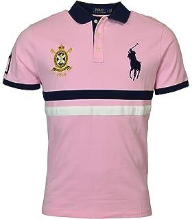 6b50f700 Polo Ralph Lauren Mens Custom Slim Fit Mesh City Polo Shirt at ...