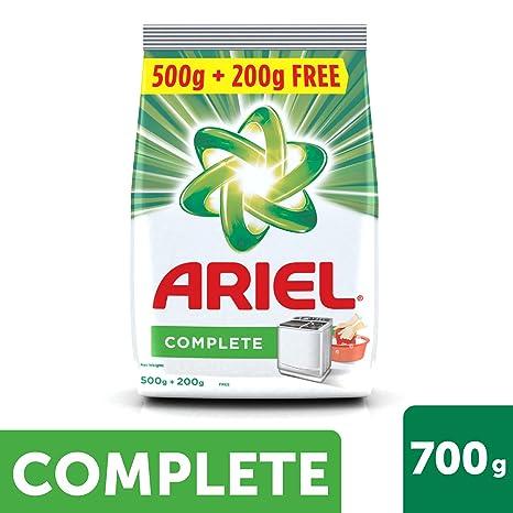 Ariel Complete Detergent Washing Powder - 500 g with Free Detergent Powder  - 200 g