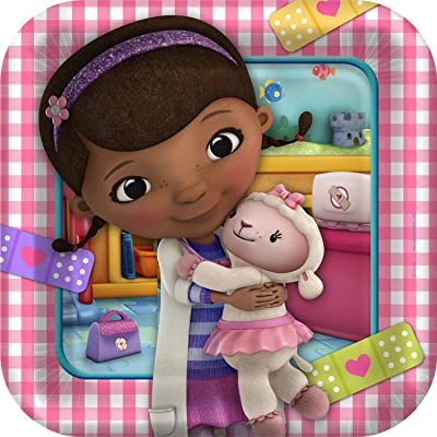 Doc McStuffins Dinner/Lunch Party Plates 8 count: Toys & Games