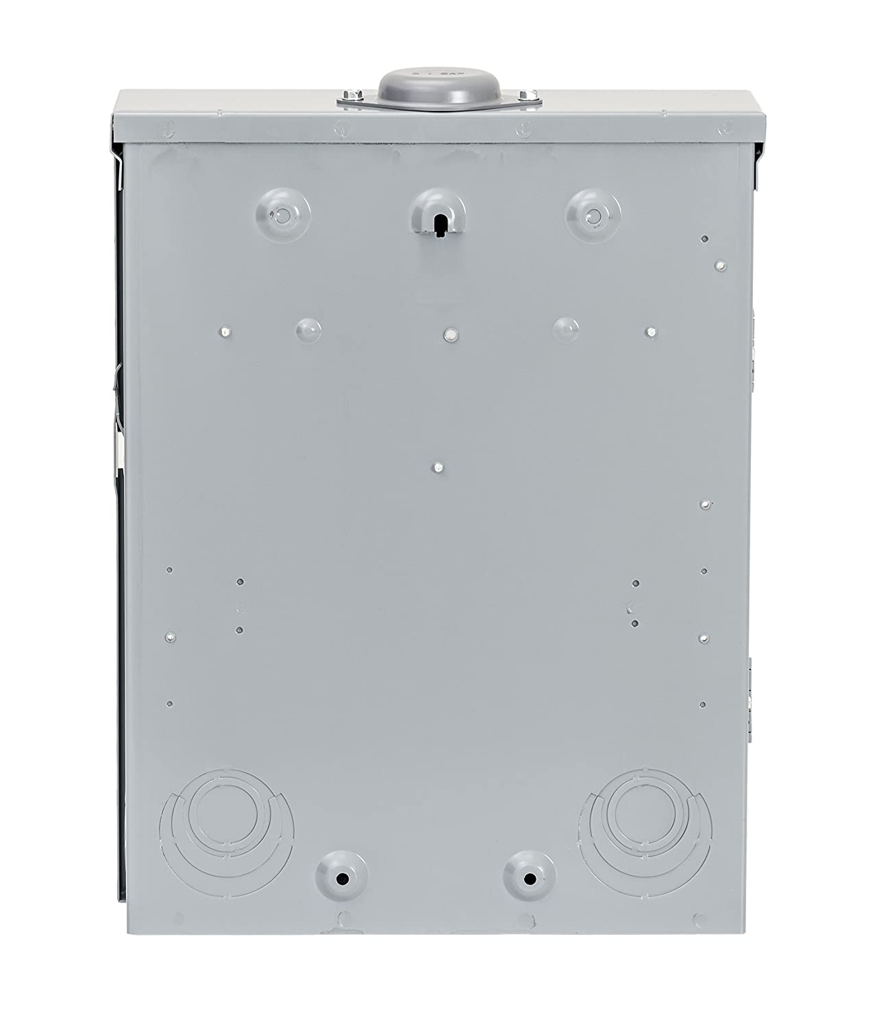 , Plug-on Neutral Ready Square D by Schneider Electric HOM816M100PRB Homeline 100 Amp 8-Space 16-Circuit Outdoor Main Breaker Load Center