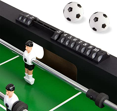 Dema 70089 - Futbolín Plegable, Color Negro: Amazon.es: Deportes y ...