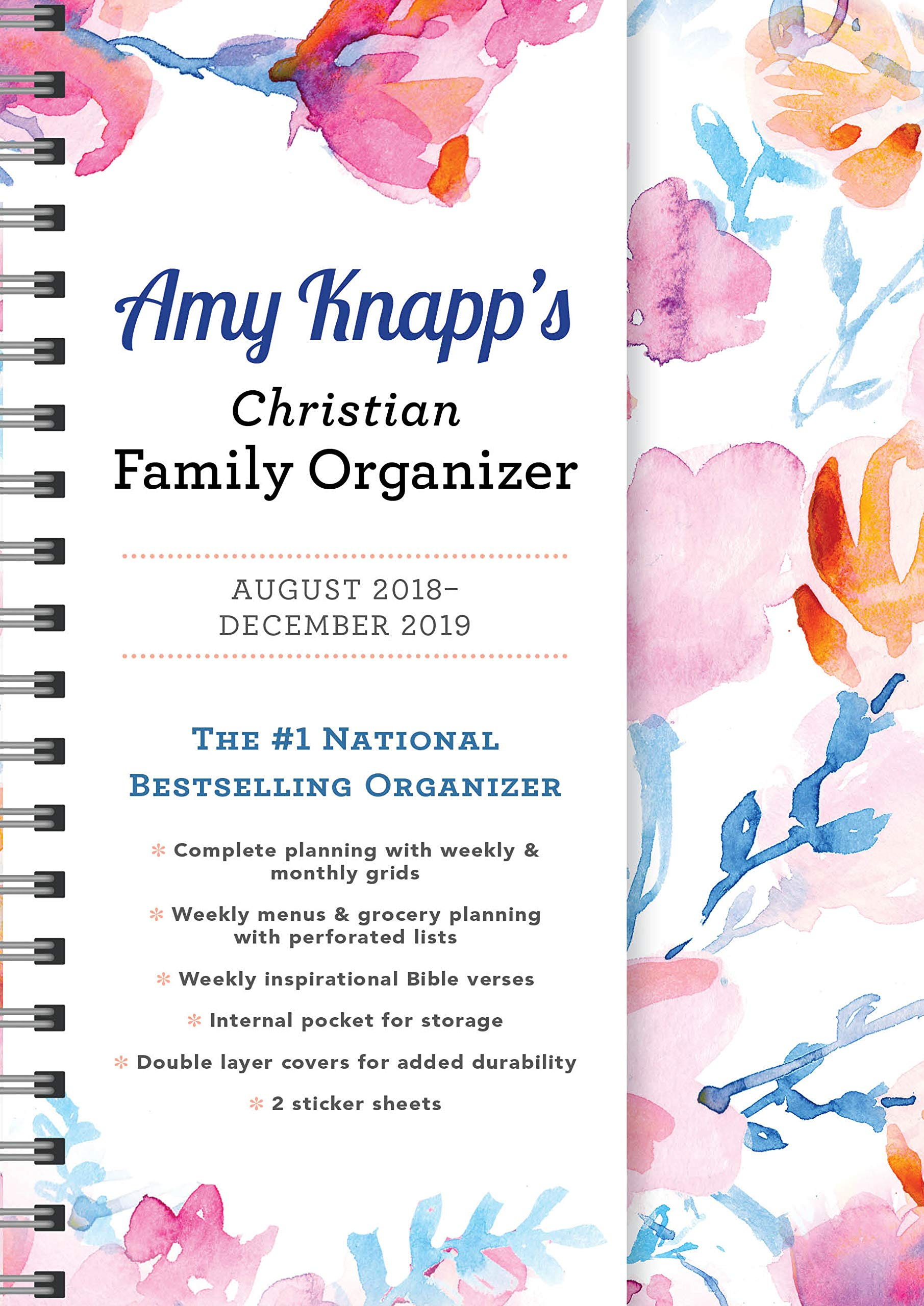 Chrisitan Concert Calendar December 2019 2019 Amy Knapp's Christian Family Organizer: August 2018 December