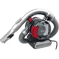 BLACK+DECKER PD1200AV-XJ 12 V Flexi Auto Dustbuster, Grey/Red