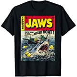 Details about  /Jaws Movie The Orca In Shark Mouth Adult T Shirt