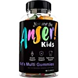 Anser Kid's Gummy Multivitamins by Tia Mowry - Once Daily Children's Vitamin for Growth & Whole Body Support - Promotes Healt