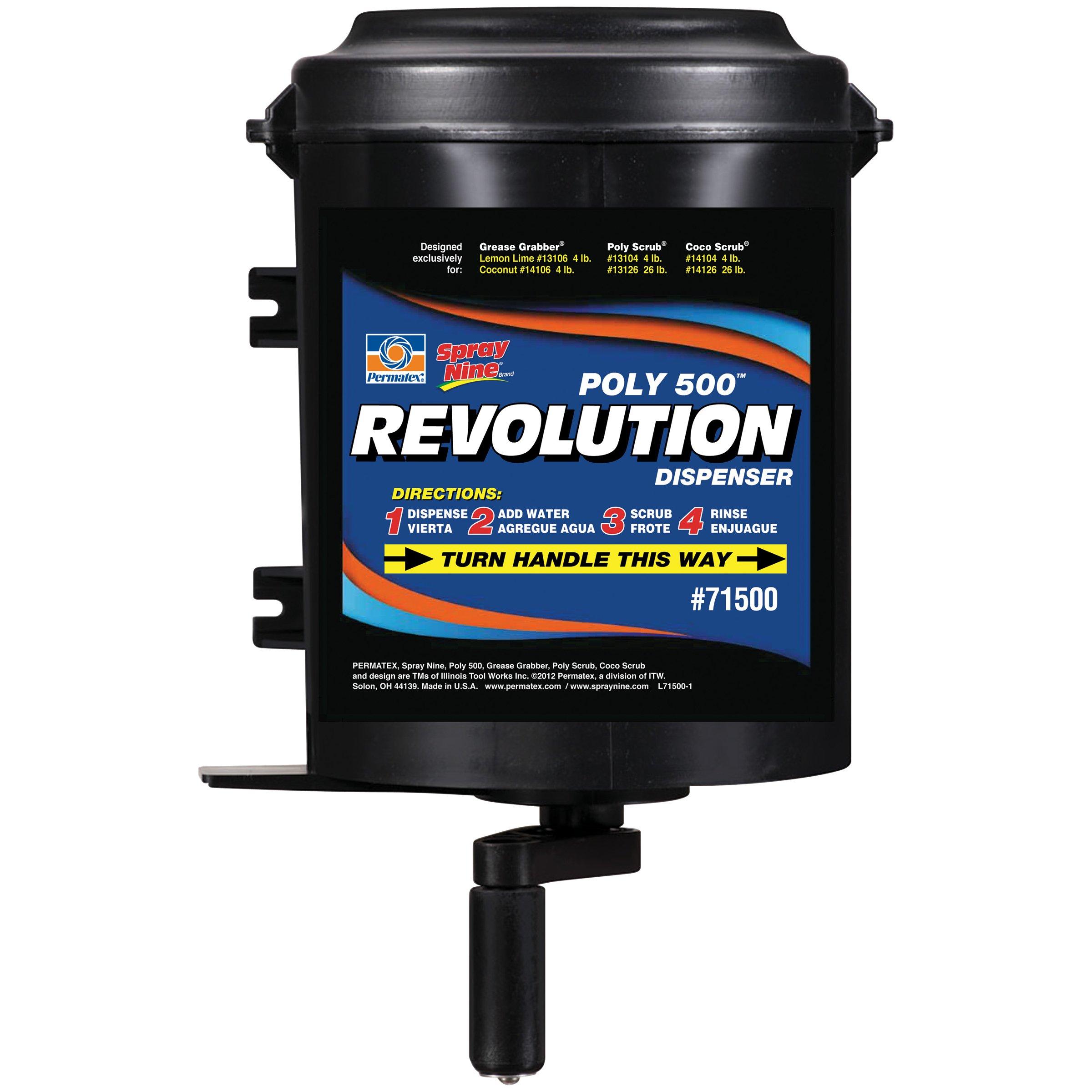 Permatex 71500 Poly 500 Revolution Dispenser