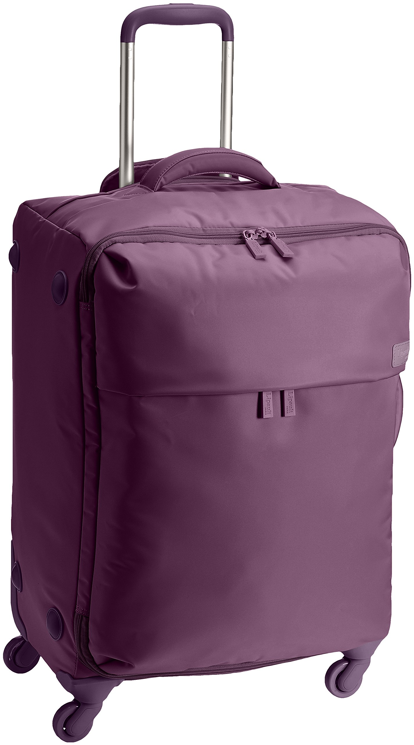 Lipault Luggage Original Plume 20'' Spinner Suitcase,Purple,One Size by Lipault