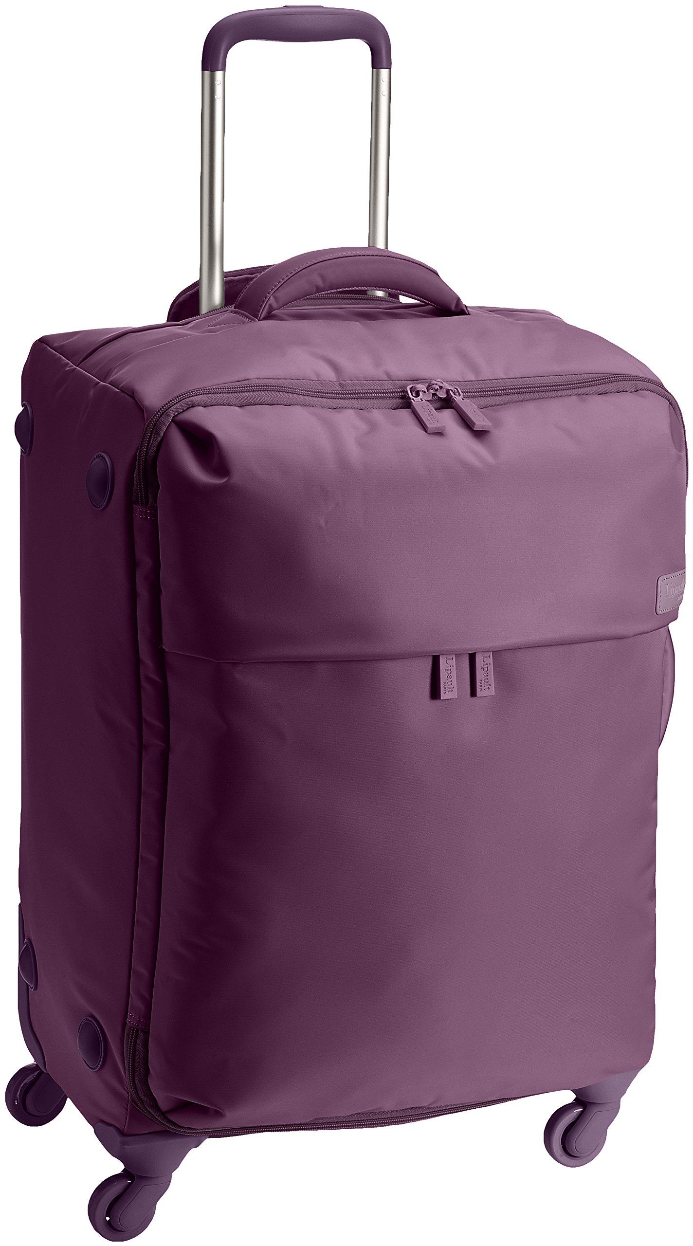 Lipault Luggage Original Plume 20'' Spinner Suitcase,Purple,One Size