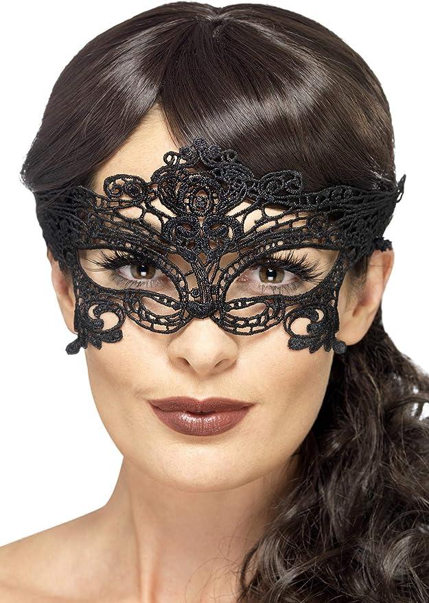 Máscara Gótica Estilo Encaje Smiffy's