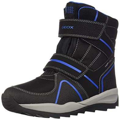 e705689292 Amazon.com | Geox Boy's Junior J Orizont B.ABX B - Tex+Pr.DBK Ankle ...