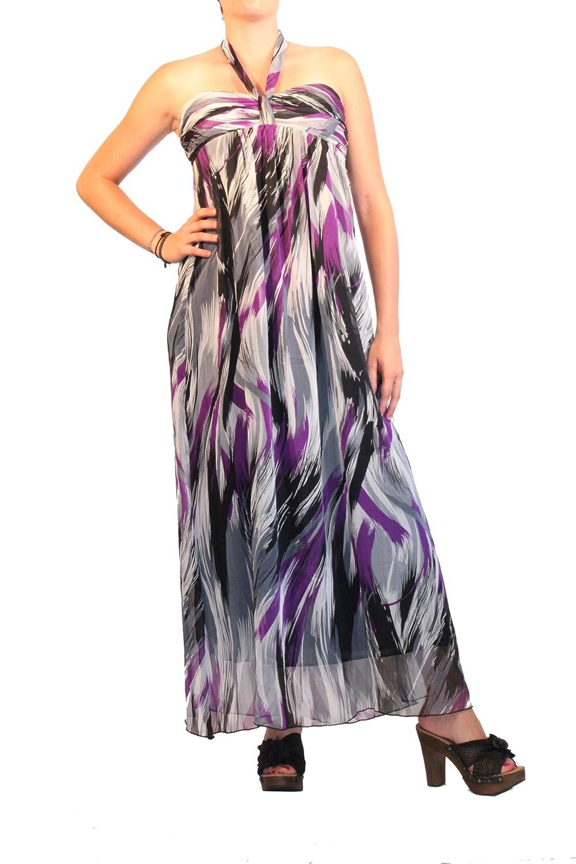 Waooh - Fashion - Langes Kleid Elea - Purplet