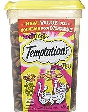 Temptations Mix-Ups Treats for Cats - Chicken - Turkey - Beef - 454g