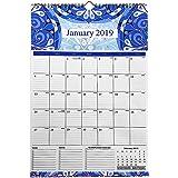 Calendario 2019 da muro - Calendario da tavolo 2019 per l'ufficio della scuola famiglia