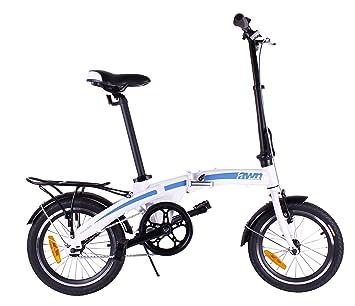 Bicicleta plegable en aluminio