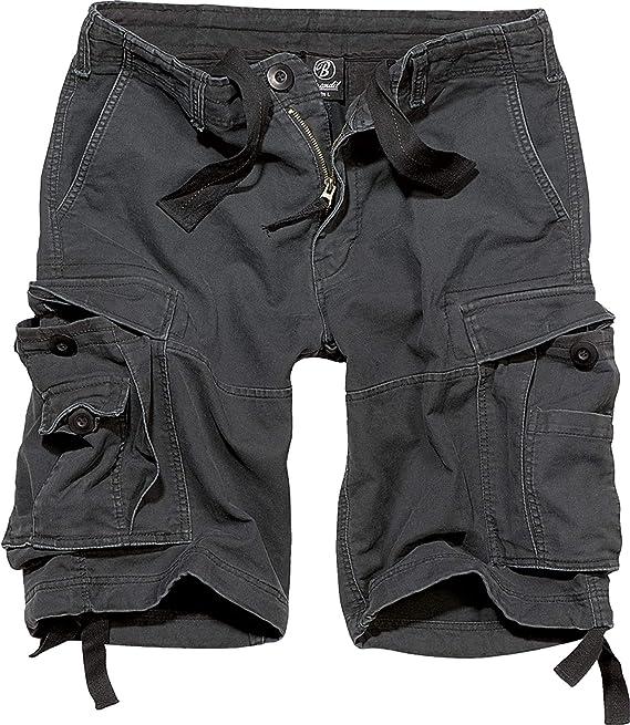 TALLA M. Brandit Vintage Shorts Basic Pantalones Cortos para Hombre