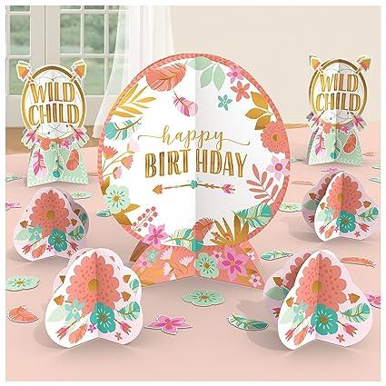 Amazon Amscan Boho Birthday Table Decorating Kit Toys Games