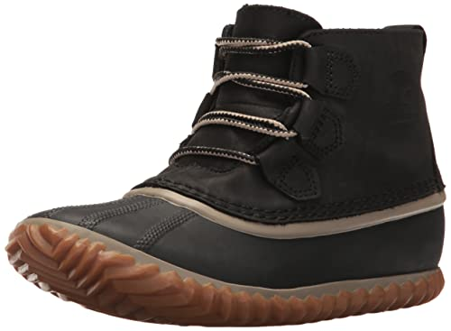 Sorel out N About Leather, Botines para Mujer, Negro, 36 EU: Amazon.es: Zapatos y complementos