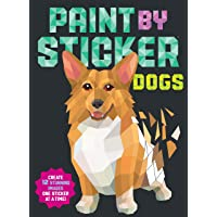 Paint by Sticker: Dogs;Paint by Sticker