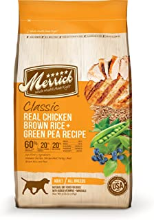 product image for Merrick Classic Real Chicken, Brown Rice & Green Pea - 15 lbs