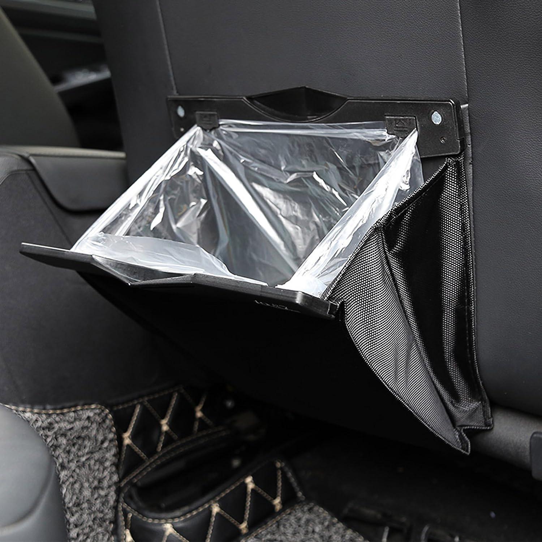 Auto Rücksitz Organizer NOVSIGHT Sitztasche Aufbewahrungstasche Sitzlehnentasche Rücksitztasche Abfalltasche Für mehr Ordnung und Platz Schwarz