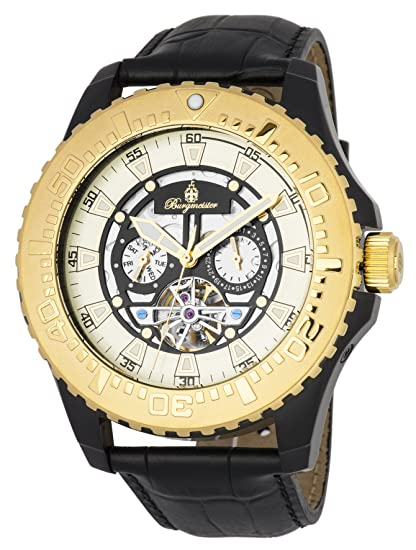 Burgmeister BM339-672 - Reloj de pulsera hombre, color Negro