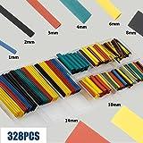 SYCEES 530 Piezas Tubo termoretractil medioambiental y seguridad para electronica, 5 Colores y 8 Tamaños