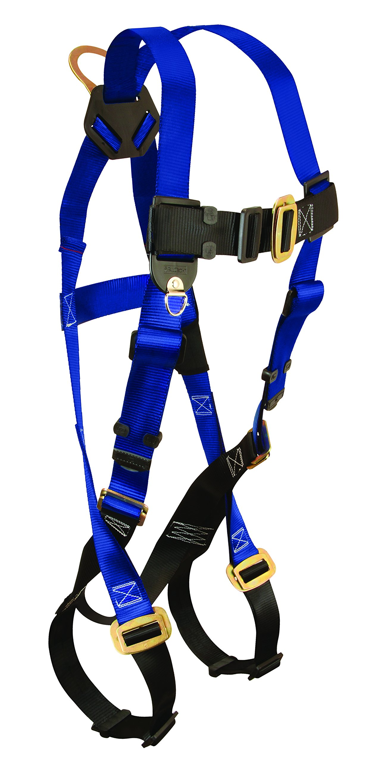 FallTech 7015 Contractor Full Body Harness with 1 D-Ring and Mating Buckle Leg Straps, Universal Fit by FallTech (Image #1)