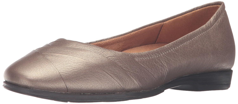 Naturalizer Women's Jaye Flat B00UVH3ISS 9 N US Nickel Alloy Metallic