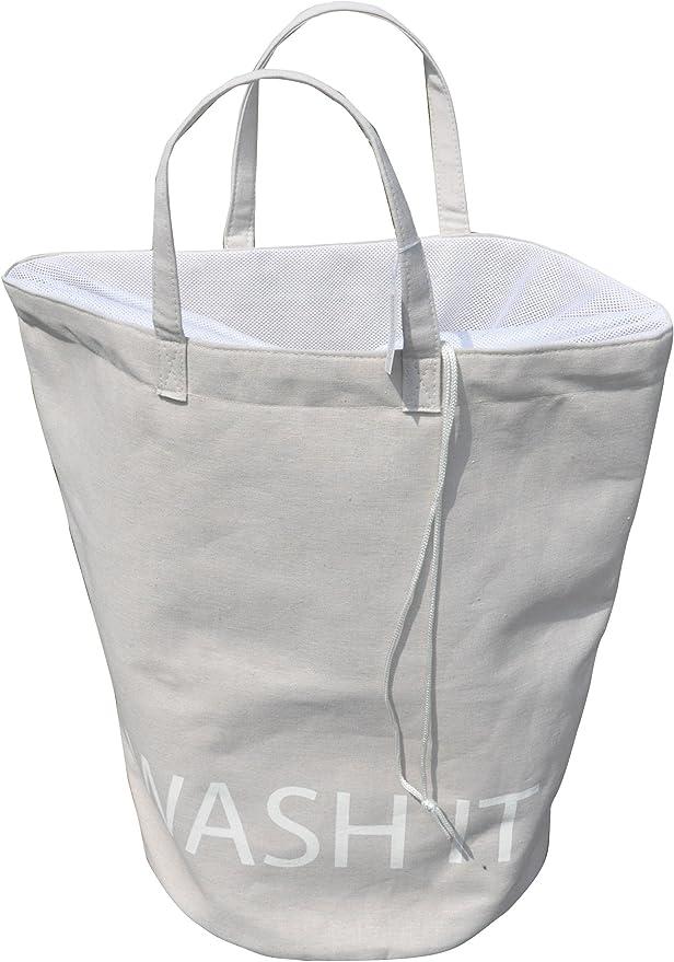 Opportunity 65QC1333280 - Bolsa para la ropa sucia (algodón y lino ...