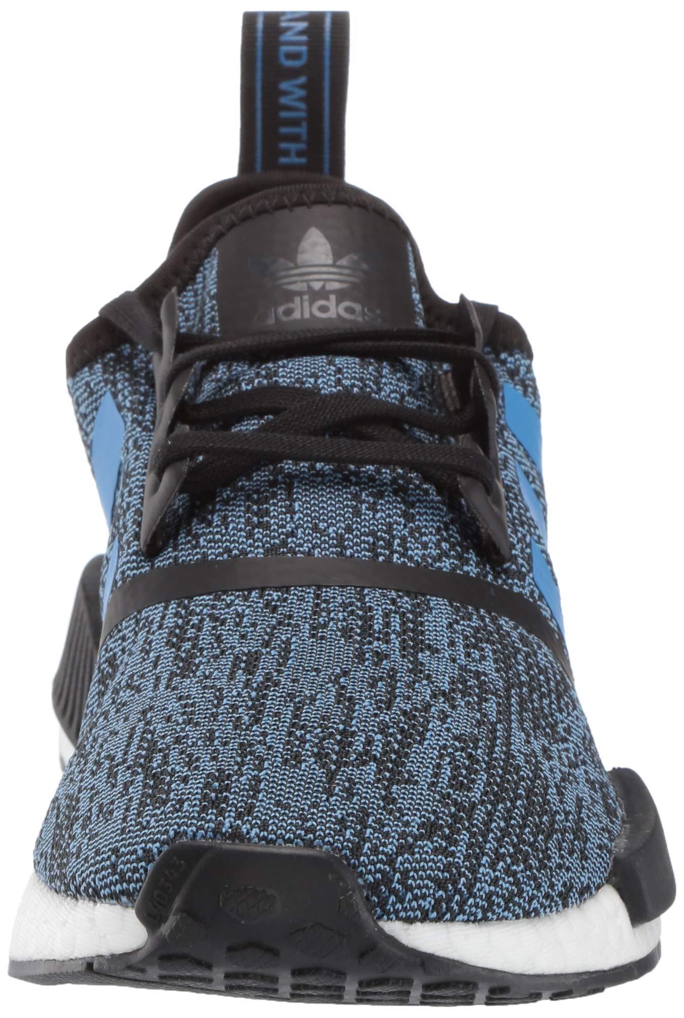 adidas Originals NMD_R1 Running Shoe True Blue/Utility Black, 3.5 M US Big Kid by adidas Originals (Image #4)
