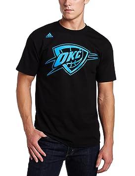 adidas NBA Oklahoma City Thunder Kevin Durant Negro Apodo Camiseta, Hombre, Oklahoma City Thunder
