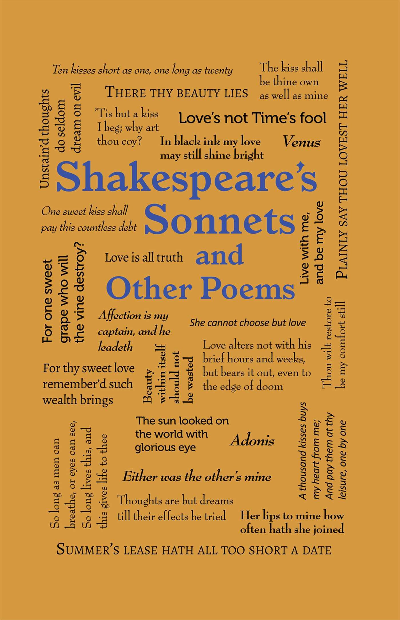 Shakespeare's Sonnets and Other Poems (Word Cloud Classics)