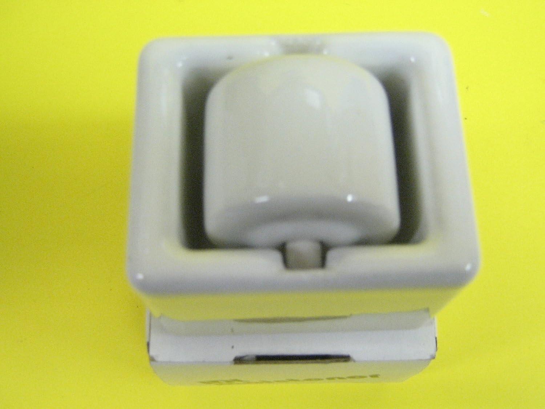 IDL Junior Porcelain Moistener, Genuine Porcelain, White, 1 1/2 Wide, One Per Customer 1 1/2 Wide IDL Corporation 27125