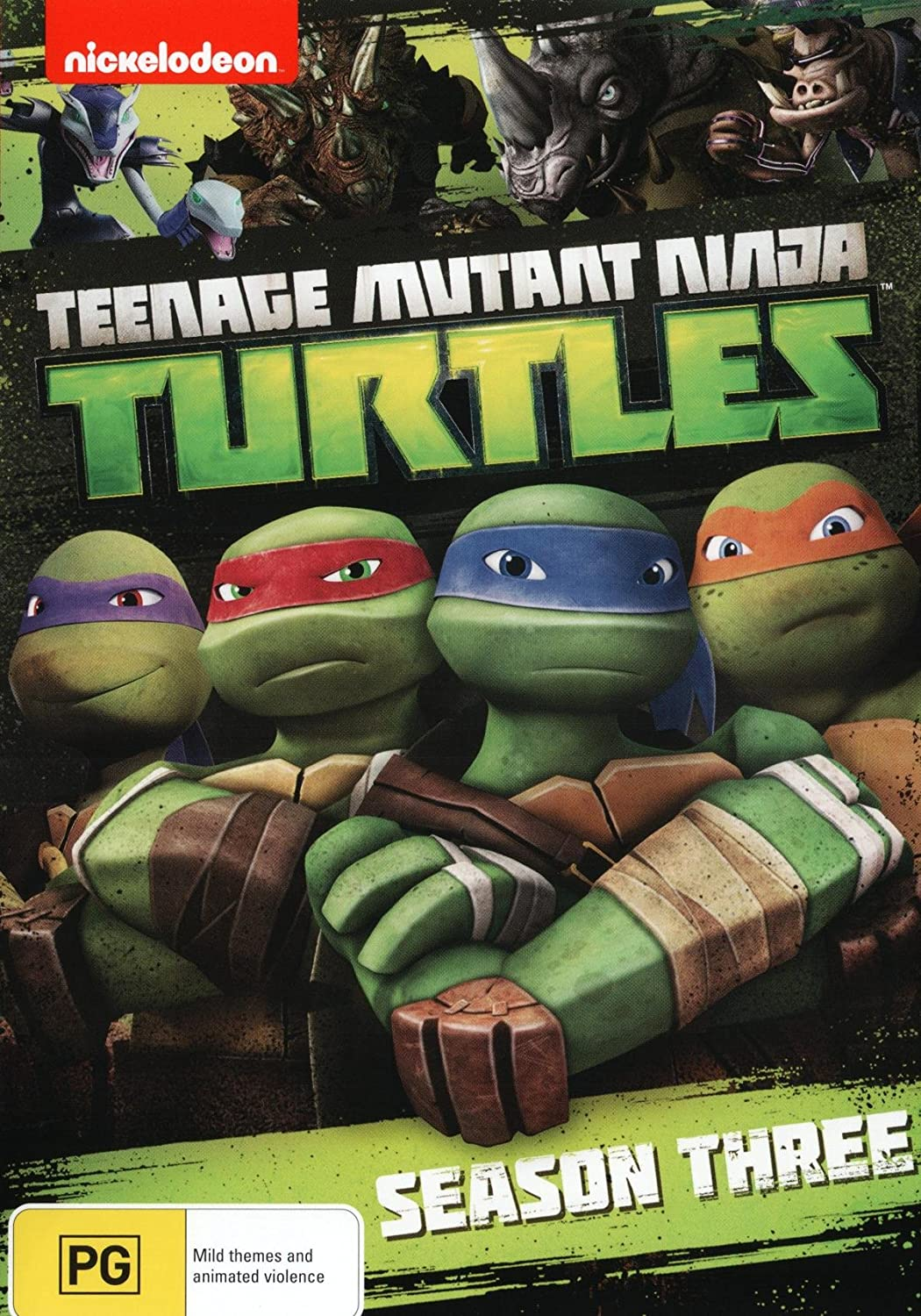 Amazon.com: Teenage Mutant Ninja Turtles: Season 3 [NON-USA ...