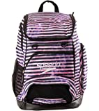 Speedo Unisex Teamster Backpack, Race Stripe Pnk, OS