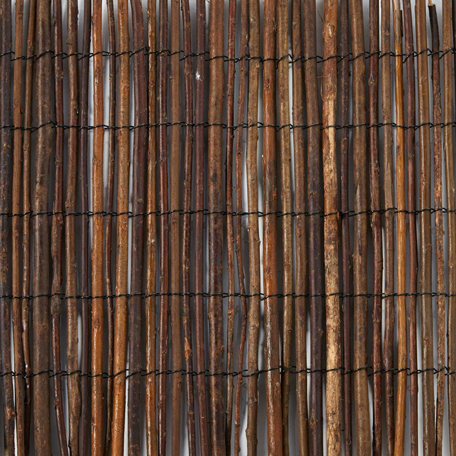 Master Garden Products WF Screen, 4 by 14-Feet Willow Fencing, 4 feet High x feet Long, Brown