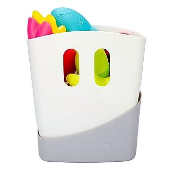 Amazon.com : Ubbi Freestanding Bath Toy Organizer Bath Caddy with ...