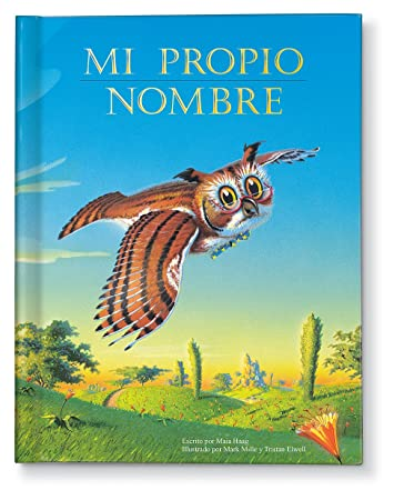Amazon.com : Mi propio nombre/My Very Own Name Personalized Custom ...