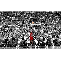 Michael Jordan Poster On Silk <96cm x 60cm