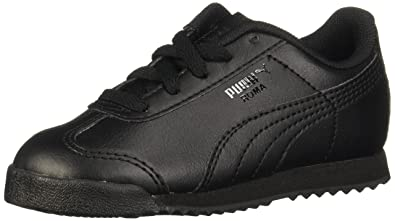 the best attitude 4bab5 929c3 Puma Kids Boy s Roma Basic Kids (Toddler Little Kid Big Kid) Black