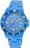 ICE-Watch - Montre Mixte - Quartz Analogique - Ice-Solid - Blue - Big - Cadran Bleu - Bracelet Plastique Bleu - SD.BE.B.P.12